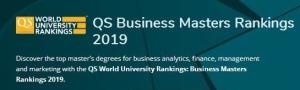 2019QS世界大学商学院四大课程排名