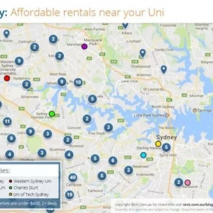 澳洲租房哪里最便宜