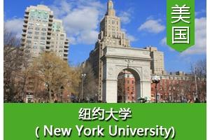 阮同学——美国纽约大学