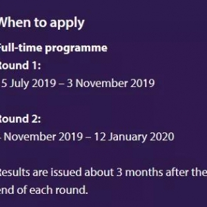 2020年香港中文大学金融专业申请已开放