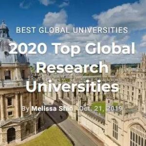 最新2020年USNEWS世界大学排名发布