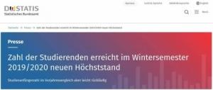 2019-2020年德国在校人数创新高