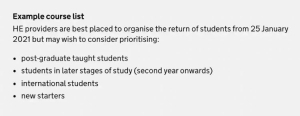 2021年英国春季返校规定发布