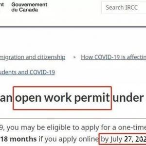 加拿大更新OWP签证申请政策