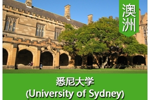 L同学——澳洲悉尼大学